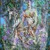 Diana, 2004, kart., stiklo plastika, aliejus, 82x61 cm