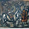 Šventosios šeimos kelionė į Egiptą, 20 a 2 p., litografija 76/200, 20,8 x 29,8 cm