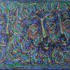 Trys karaliai, 1988, kart., aliejus, 50x70 cm